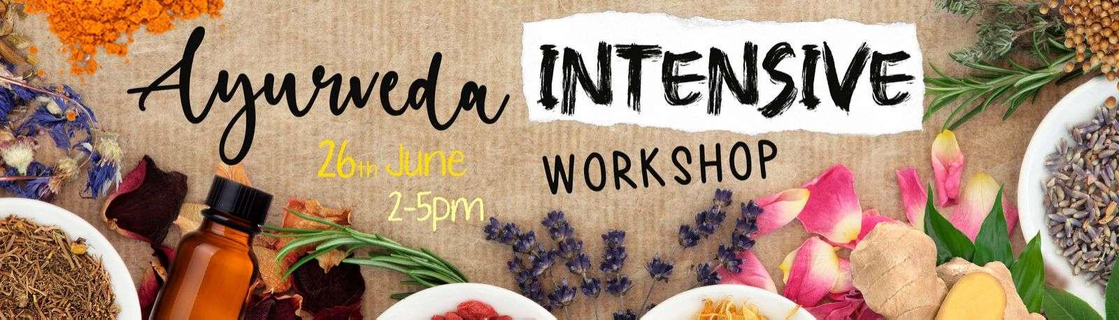 ayurveda intensive workshop
